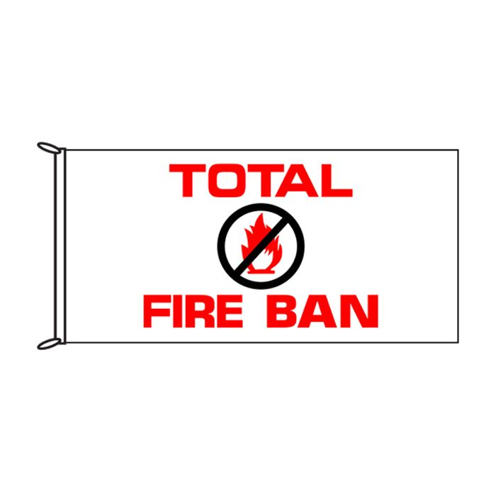 Total Fire Ban Flag