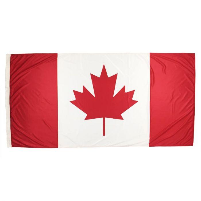 Canada Flag 1800mm x 900mm (Fully Sewn, Vertical Sleeve)
