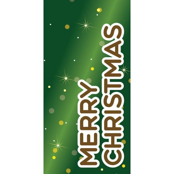 Merry Christmas Green (111)