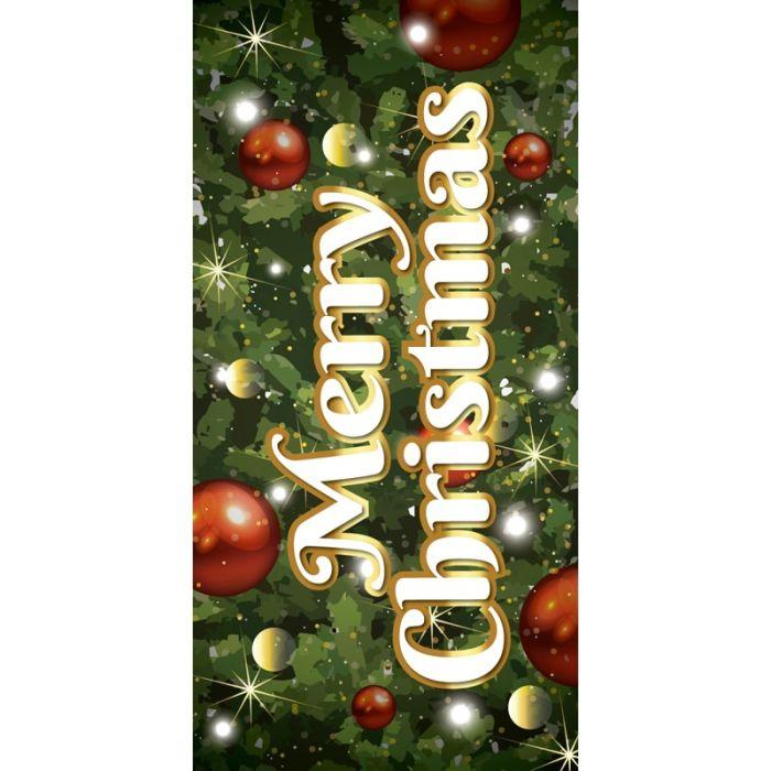Merry Christmas Flag Tree Background (114)