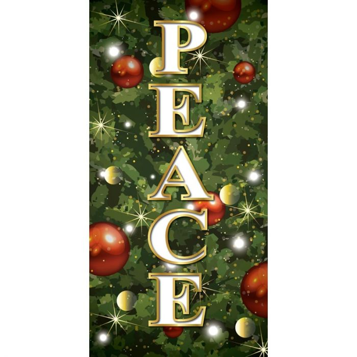 Merry Christmas Flag Peace Tree Background (116)