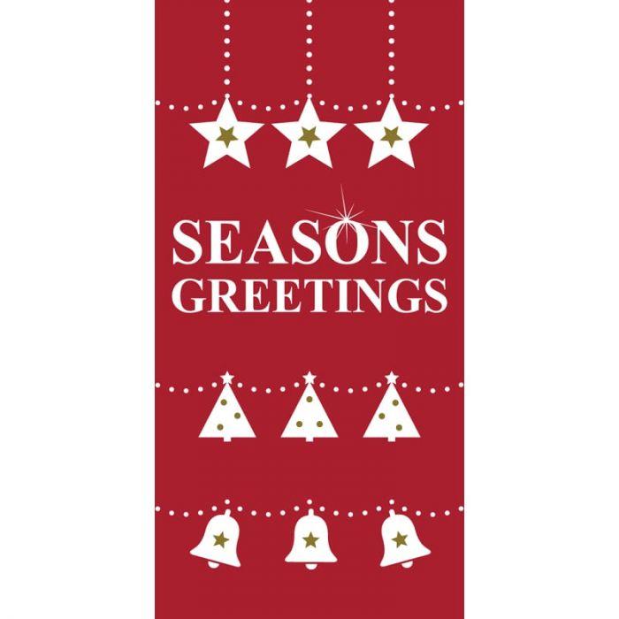 Seasons Greetings Red Flag (118)