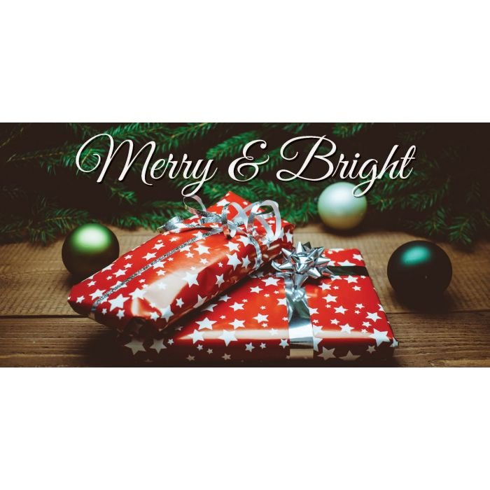 Merry & Birght Christmas Flag (93)