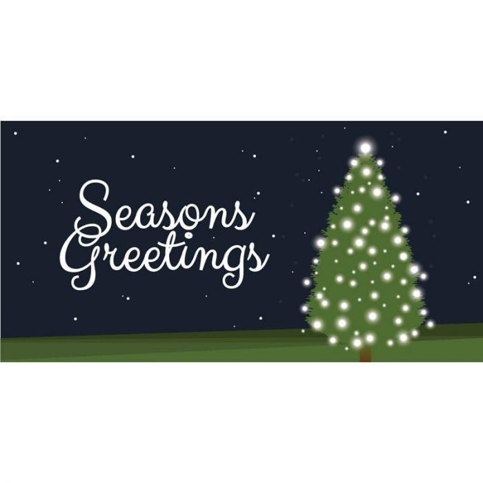 Seasons Greetings Tree with Lights Horizontal (21)