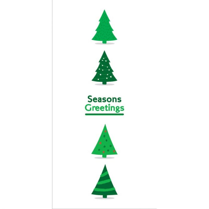 Seasons Greetings Christmas Flag Green  (76)