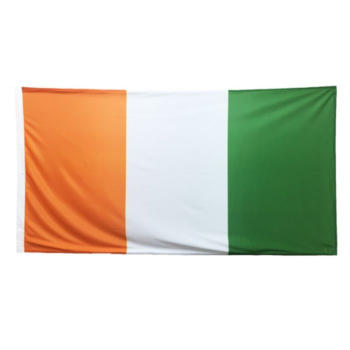 Cote D'lvoire Flag 1800mm x 900mm (knitted)