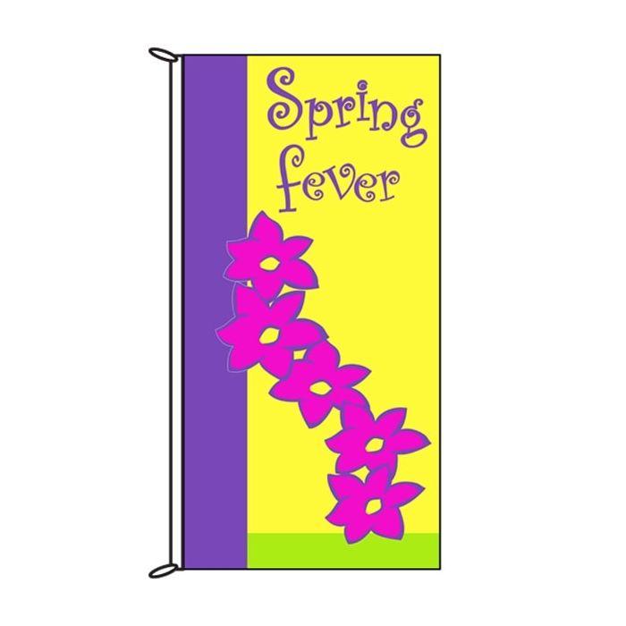 Spring Flag Spring Fever Pink 900mm x 1800mm (Knitted)