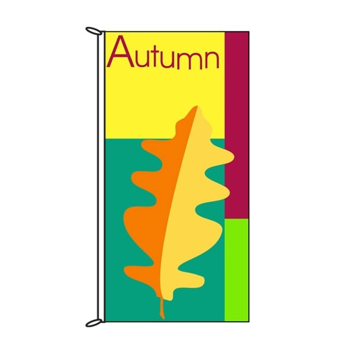 Autumn Flag 900mm x 1800mm (Knittted)