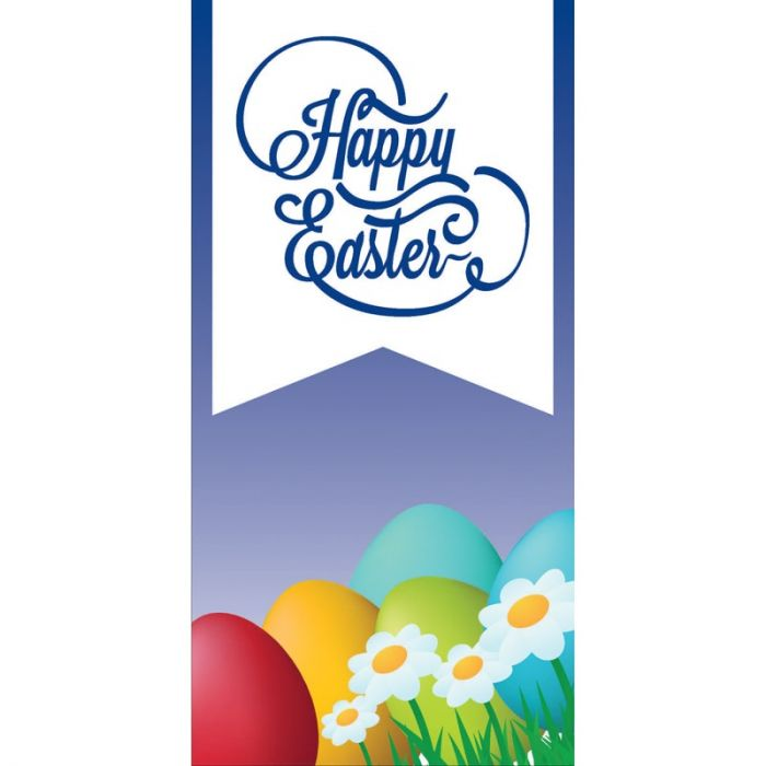 Easter 6B Flag 900mm x 1800mm (Knitted)