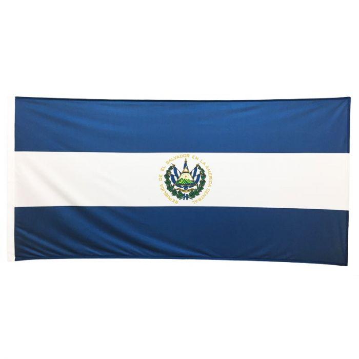 El Salvador Flag 1800mm x 900mm (Knitted)