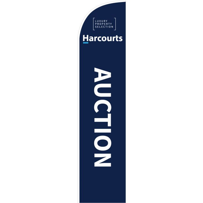 Harcourts Luxury Auction Blue Feather