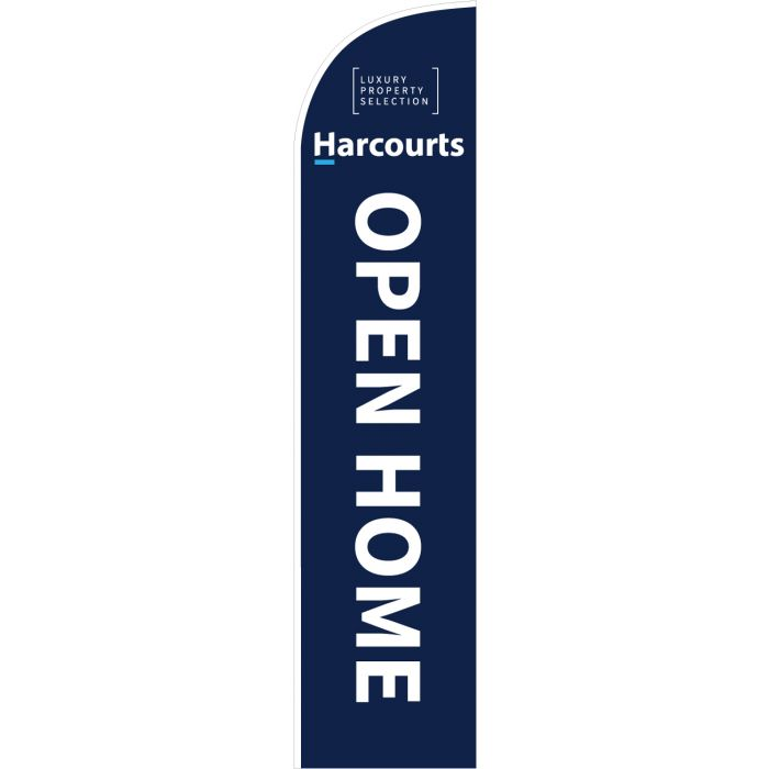 Harcourts Luxury Open Home Blue Feather