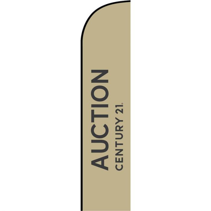 Century 21 Real Estate - Auction Feather Flag 650mm x 3000mm