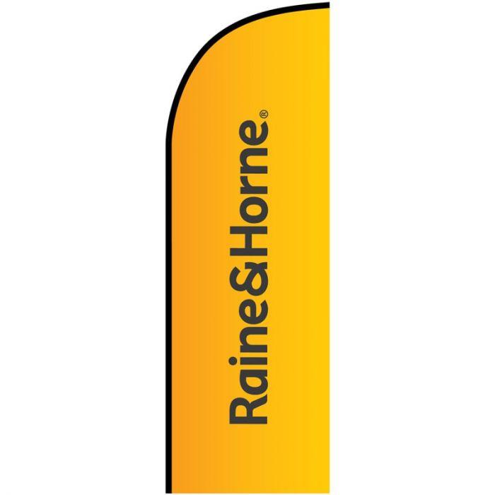 Raine & Horne Small Feather Flag