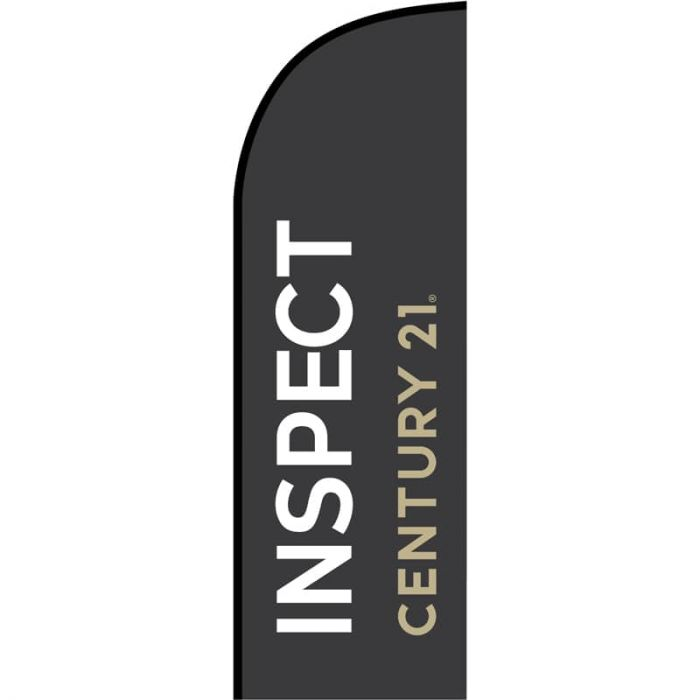 Century 21 Real Estate - Inspect Feather Flag 650mm x 2000mm