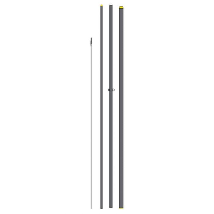 Feather Flagpole (number of pieces may vary from image)