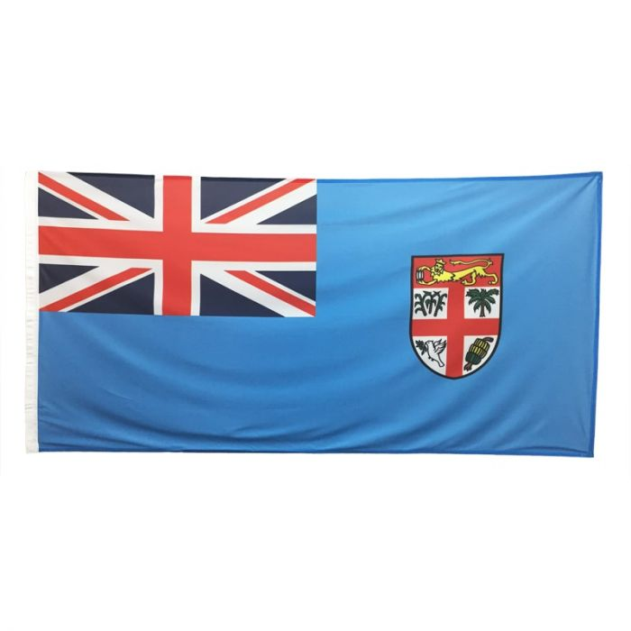 Fiji Flag 1800mm x 900mm (Fully Sewn)