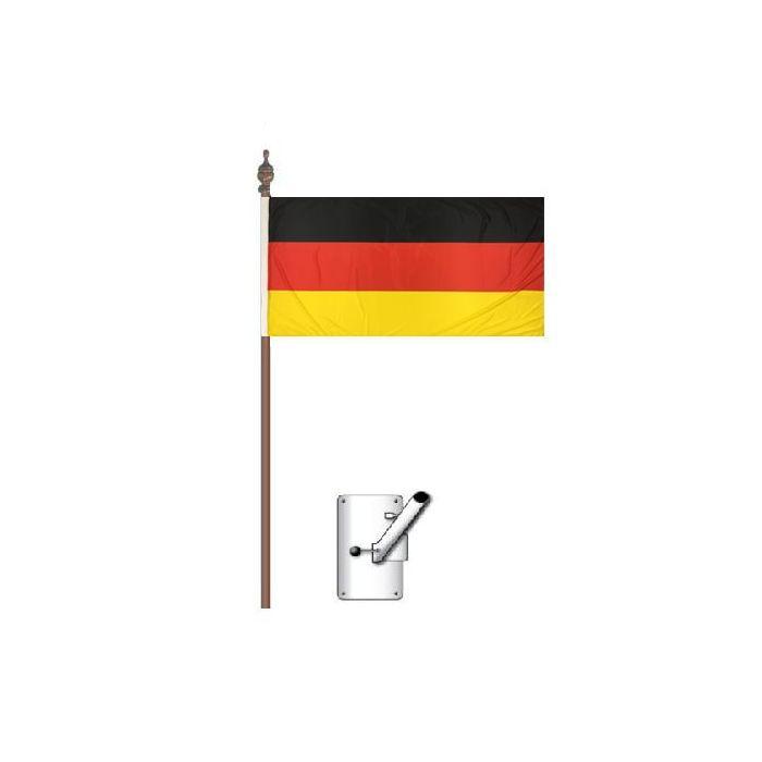 German Flag Bracket and Pole Kit