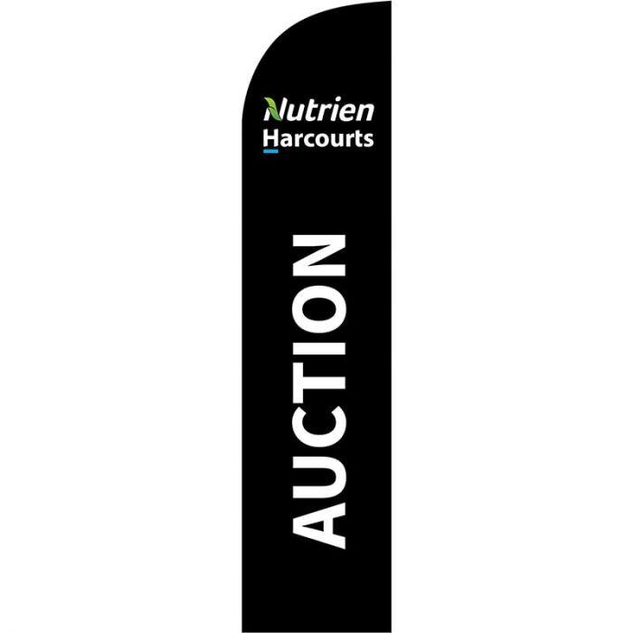 Nutrien Harcourts Auction (2020) Black Medium Feather 650mm x 3000mm