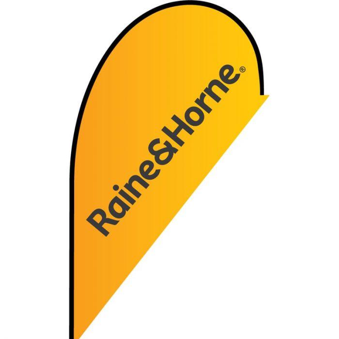 Raine & Horne Small Tear Drop Flag