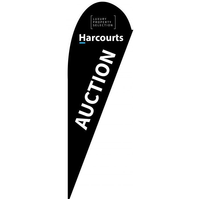 Harcourts Luxury Auction Black
