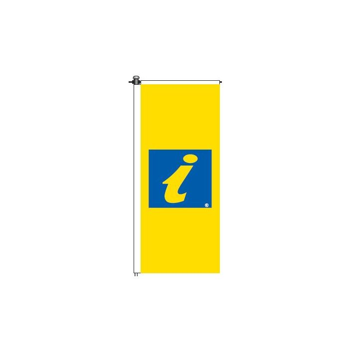 Window Flag - Accredited Visitor Information