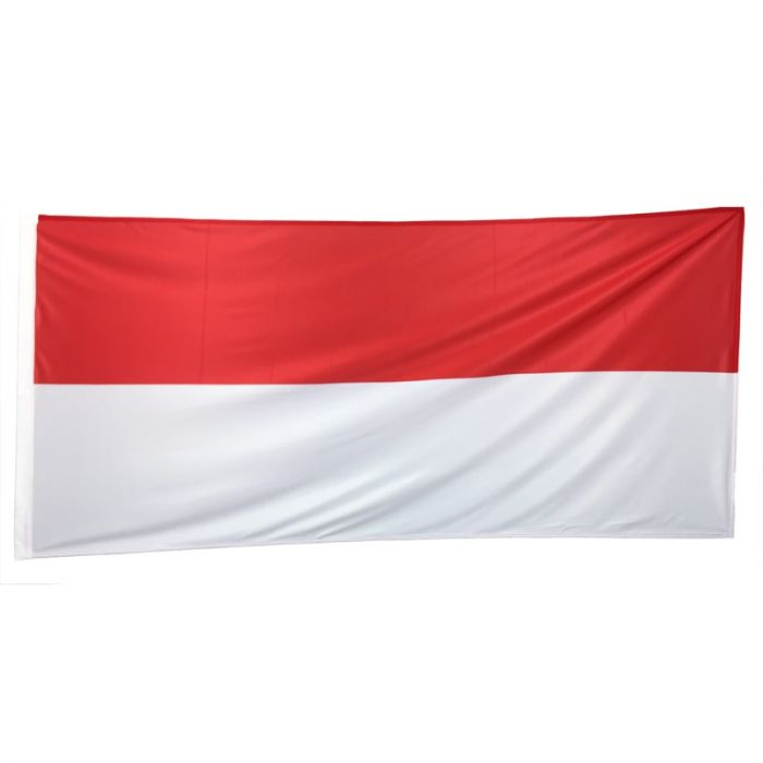 indonesia Flag 1800mm x 900mm (Fully Sewn)
