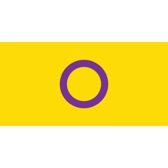 Intersex Flag 1800mm x 900mm (Knitted)