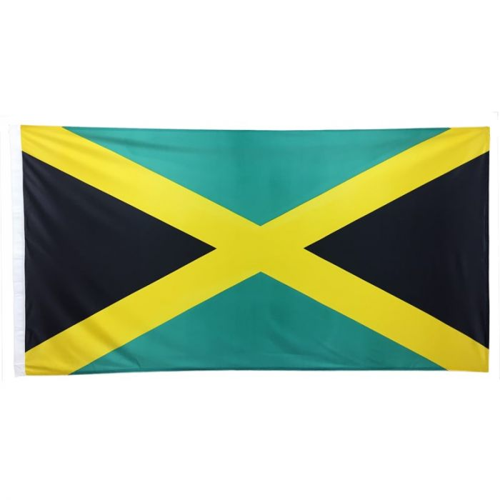 Jamaican Flag 1800mm x 900mm (Fully Sewn)