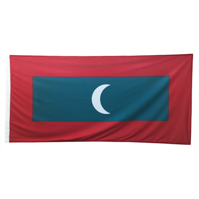 Maldives Flag 1800mm x 900mm (Knitted)