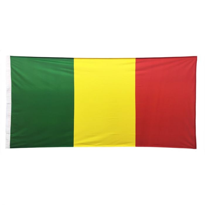 Mali Flag 1800mm x 900mm (Knitted)