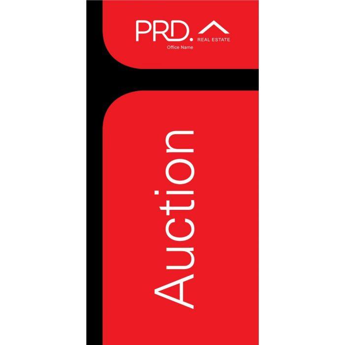 PRD Real Estate Auction Design (Black)