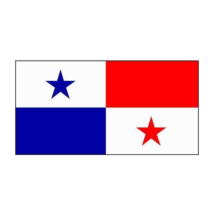 Panama Flag 3600mm x 1800mm (Fully Sewn)