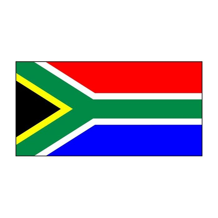 South Africa hand sewn flag, South Africa fully sewn flag