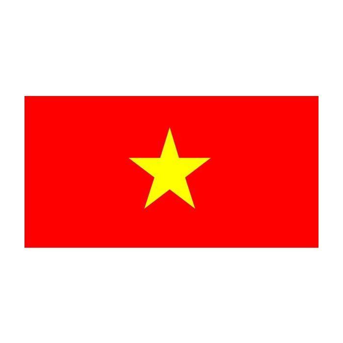 Vietnam fully sewn flag, Vietnam hand sewn flag