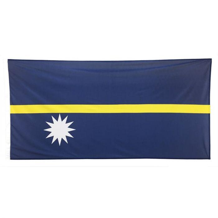 Nauru Flag 1800mm x 900mm (Woven)