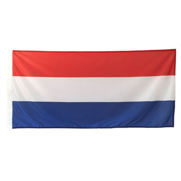 Netherlands Flag 1800mm x 900 mm (Fully Sewn, Vertical Sleeve)