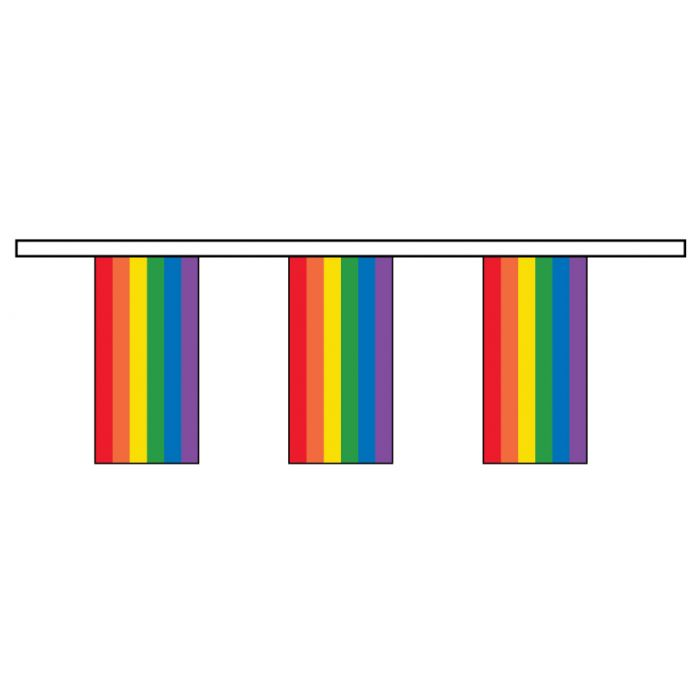 Rainbow Paper Bunting