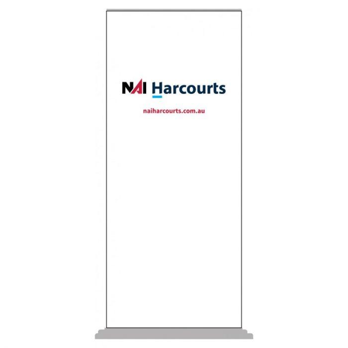 Harcourts NAI Pull Up Banner