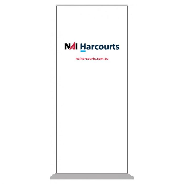 NAI Harcours Pull Up Banner