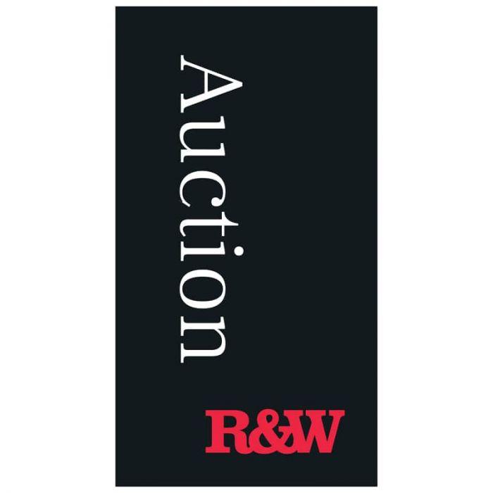 Richardson & Wrench Black Auction Flag