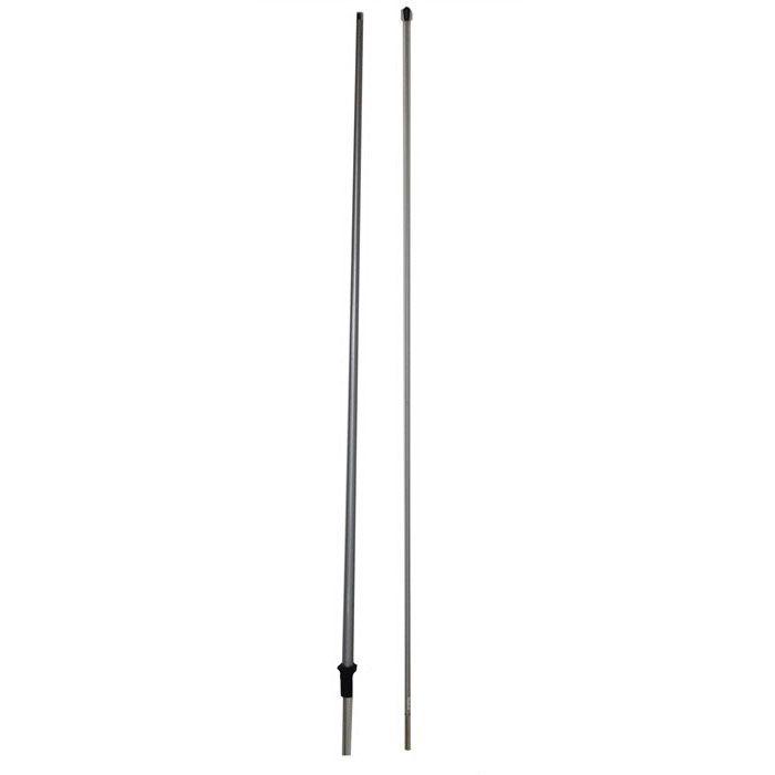 Small tear drop pole