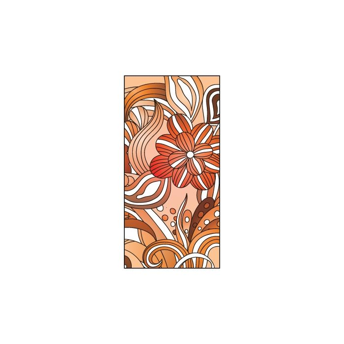 Spring Flag Orange 900mm x 1800mm (Knitted)