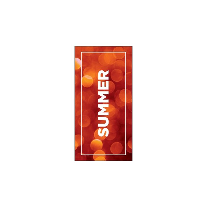 Summer Flag Red 900mm x 1800mm (Knitted)