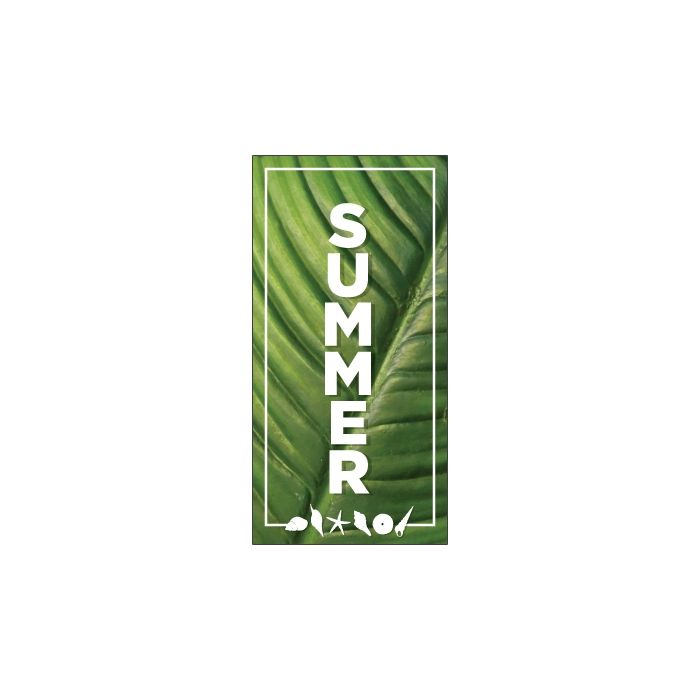 Summer Flag Green 900mm x 1800mm (Knitted)
