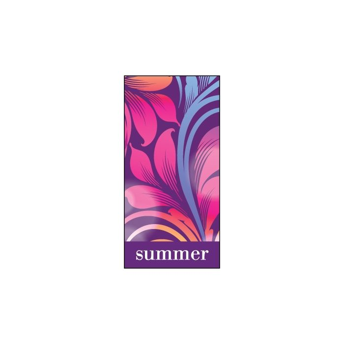 Summer Flag Purple 900mm x 1800mm (Knitted)