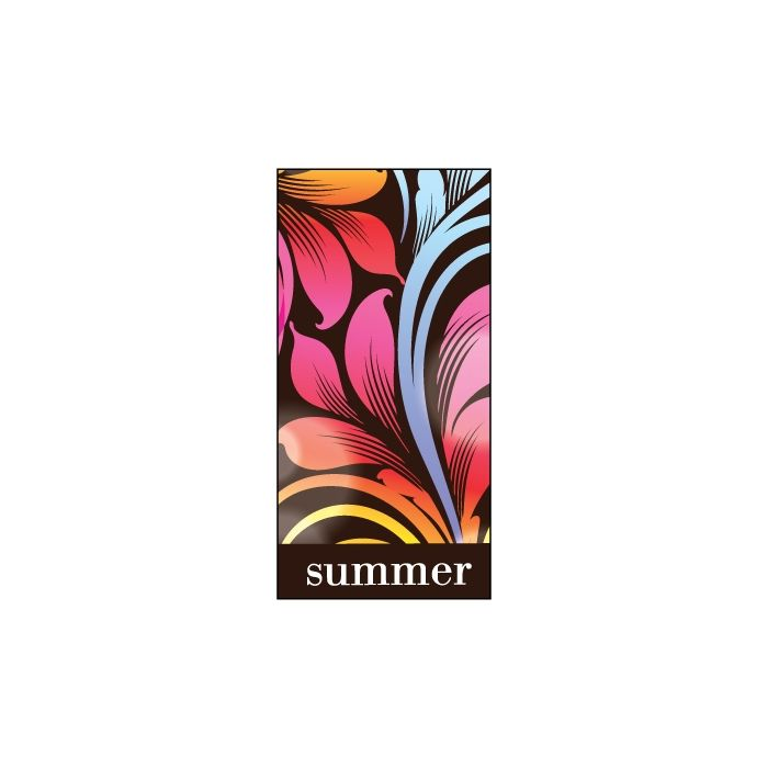 Summer Flag Multicolour 900mm x 1800mm (Knitted)
