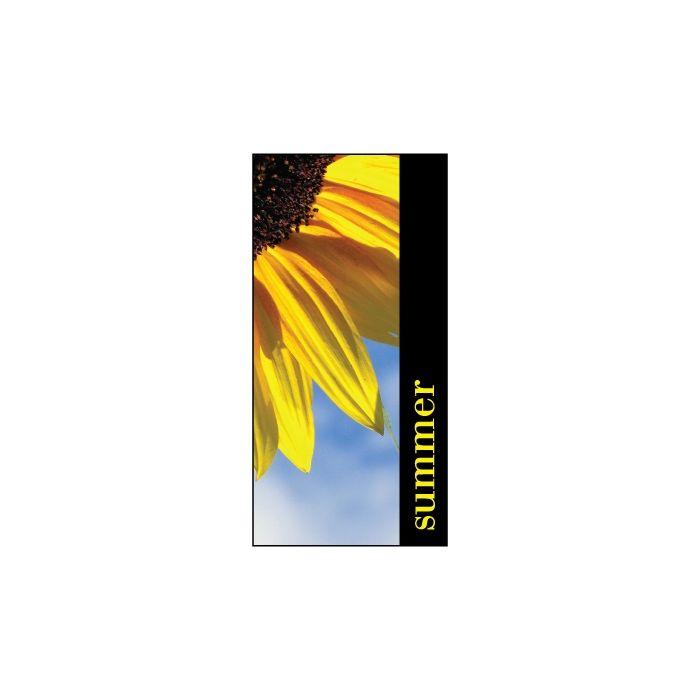 Summer Flag Sunflower 900mm x 1800mm (Knitted)