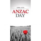 Anzac Day Flag - Red Poppy (27)