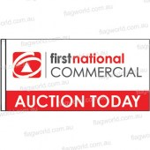First National Commercial - Auction Today with sleeve